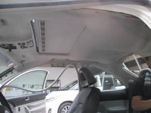 車のトータルリペアCREWS 天井張替